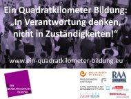 Beitrag Sascha Wenzel - Forum Berlin