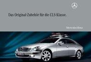 Das Original-Zubehör für die CLS-Klasse. - Mercedes