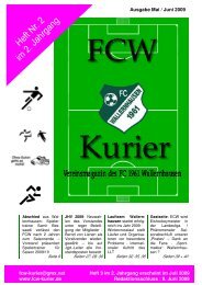 Download von Heft 2009/2 - fcw-kurier.de