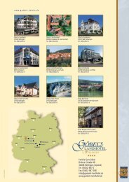Goebels-Landhotel-Imageprospekt - Göbel Hotels