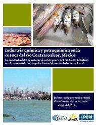 Industria química y petroquímica en la cuenca del río Coatzacoalcos ...