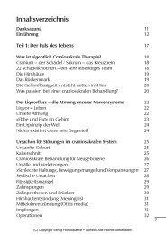 Verzeichnis der Abbildungen - Verlag Homöopathie + Symbol