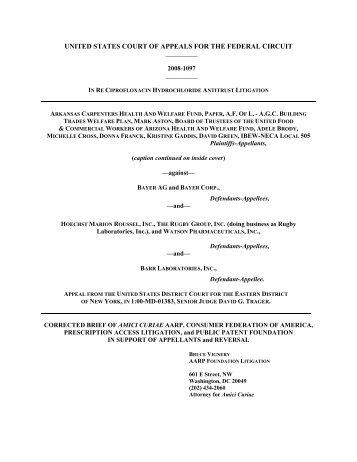 PDF; 98KB - Public Patent Foundation