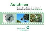 druck broschüre deutsch - Lungenliga