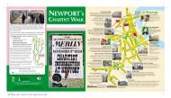 Chartist Walk Leaflet and Map - Newport City Council