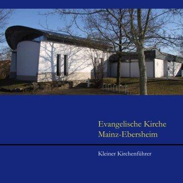 Kirchenführer - Evangelische Kirchengemeinde Mainz-Ebersheim