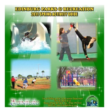 EDINBURG PARKS & RECREATION - City of Edinburg