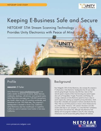 Unity Electronics - Netgear