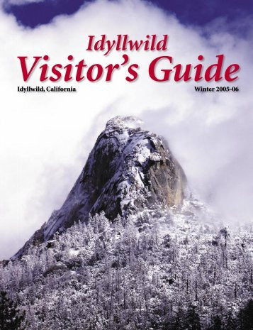 Visitor's Guide - Idyllwild Town Crier