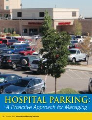 Hospital Parking: Control it Before It Controls You - International ...