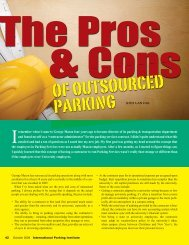 The Pros & Cons of Outsourced Parking - International Parking ...