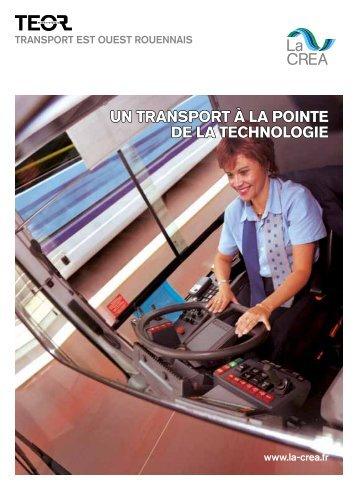 Un transport à la pointe de la technologie - La Crea