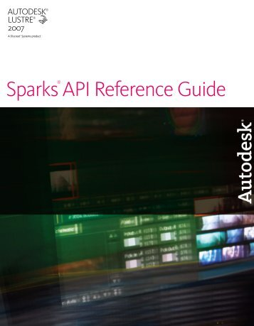 Sparks API Reference Guide - Autodesk