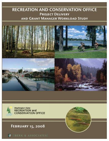 Berk Report - Washington State Recreation and Conservation Office
