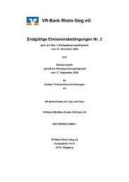 Endgültige Emissionsbedingungen Nr.2 WKN_A1A6MC