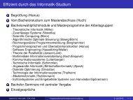 SS 2013 - Institut für Informatik - Christian-Albrechts-Universität zu Kiel