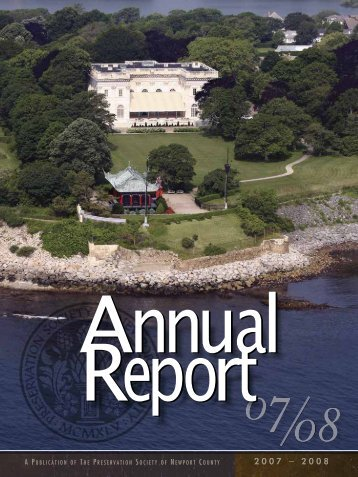 Annual Report 2007-2008 - Newport Mansions