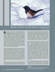 Winter Birds and Birding in Oklahoma - Oklahoma Biological Survey ...