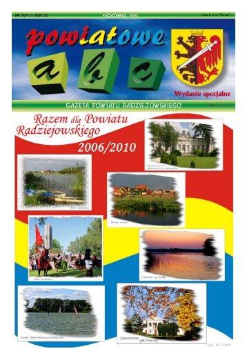 Powiatowe ABC-wydanie specjalne 2010 - Powiat Radziejowski