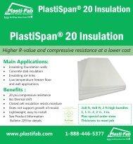 [rm PlastiSpan® 20 Insulation - Plasti-Fab