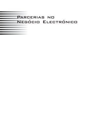 Parcerias no Negócio Electrónico - Sociedade Portuguesa de ...