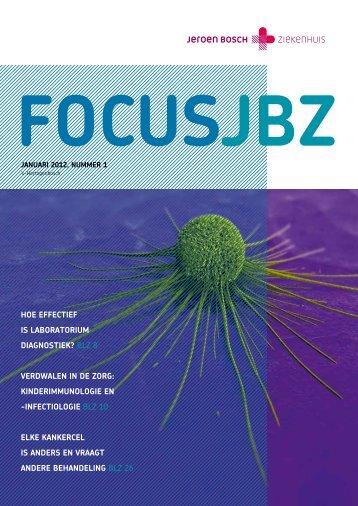 Focus JBZ - Jeroen Bosch Ziekenhuis