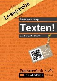 Leseprobe - SGV Verlag