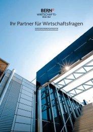 Image-Broschüre - Wirtschaftsraum Bern