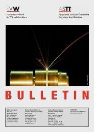 Bulletin2011 - Schweizer Verband für Wärmebehandlung