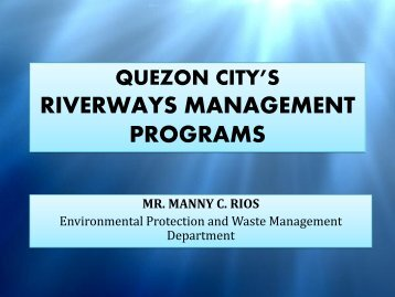 Quezon City LGU - Environmental Management Bureau