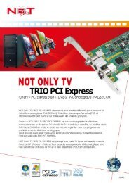 NOT ONLY TV TRIO PCI Express
