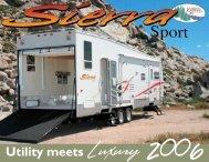 2006 Sierra West Sport Brochure - Rvguidebook.com