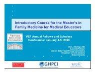 Presentation by Dr. Alain Montegut, VEF Faculty Scholar - Vietnam ...