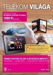 Telekom világa 2013. május - T-Mobile