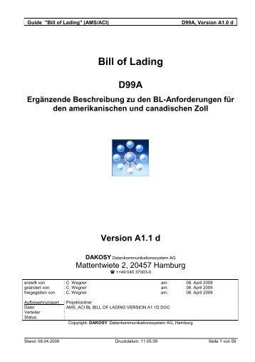 AMS/ACI - DAKOSY Datenkommunikationssystem AG