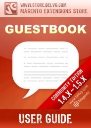 Guestbook - BelVG Magento Extensions Store