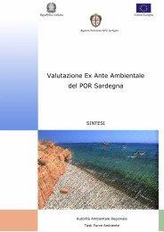 Valutazione Ex Ante Ambientale del POR Sardegna - Dps
