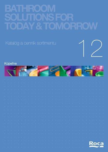 Katalóg ROCA 2012 - Kupelnasnov.sk