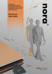 Sortiment 2011/2012 deutsch - nora-schuh