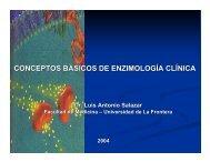 conceptos básicos de enzimología clínica - Facultad de Medicina ...