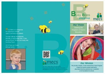 Busy Bees - Mount Evelyn Christian School
