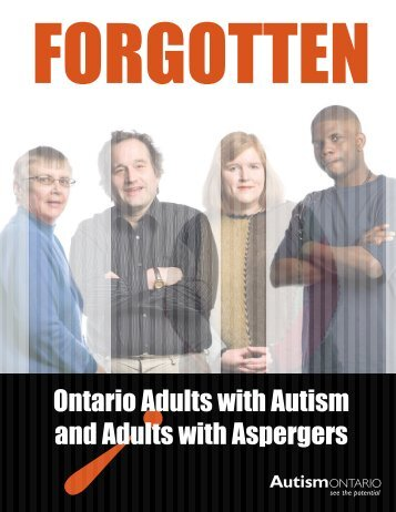 Ontario Adults with Autism and Adults with Aspergers - Autism Ontario