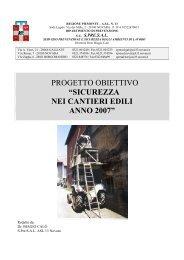 La sicurezza nei cantieri - ASL 13 Novara