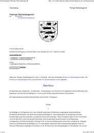 Thüringer Oberlandesgericht