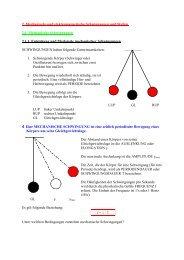2. Mechanische und elektromagnetische Schwingungen und Wellen ...