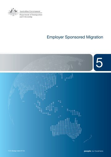 Booklet 5 - Department of Immigration & Citizenship