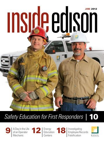 Safety Education for First Responders 10 - Inside Edison