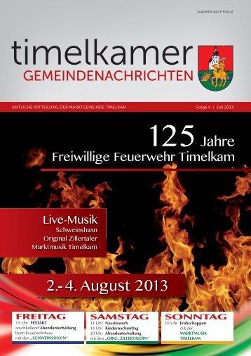 Timelkamer Gemeindenachrichten JULI 2013.indd