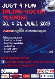 Download Flyer und Anmeldebogen - Schwenninger Wild Wings