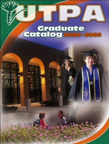 2000-2002 Graduate - The University of Texas-Pan American